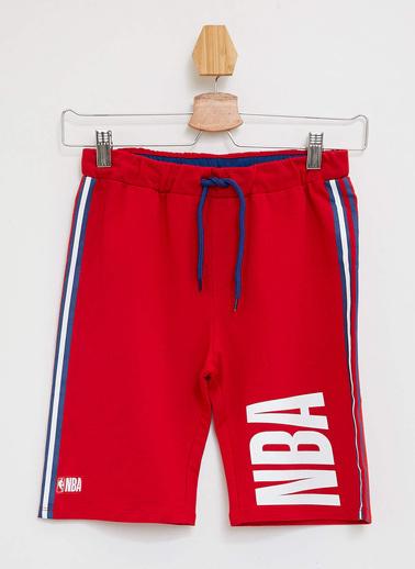 DeFacto NBA Lisanslı Bermuda Kırmızı